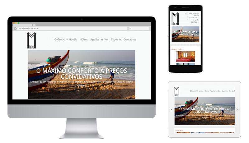 Sites 365 - Ping - Portefólio - Grupo M Hóteis